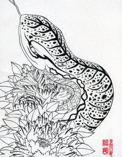 Kazuyoshi Nakano Horiyoshi 3 Souryou ARTWORK